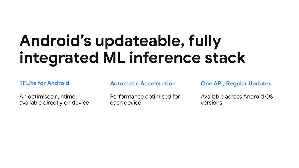 What's new in Android Machine Learning _ Session 8-52 screenshot