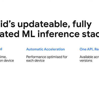 Google is making machine learning faster and more consistent across Android
