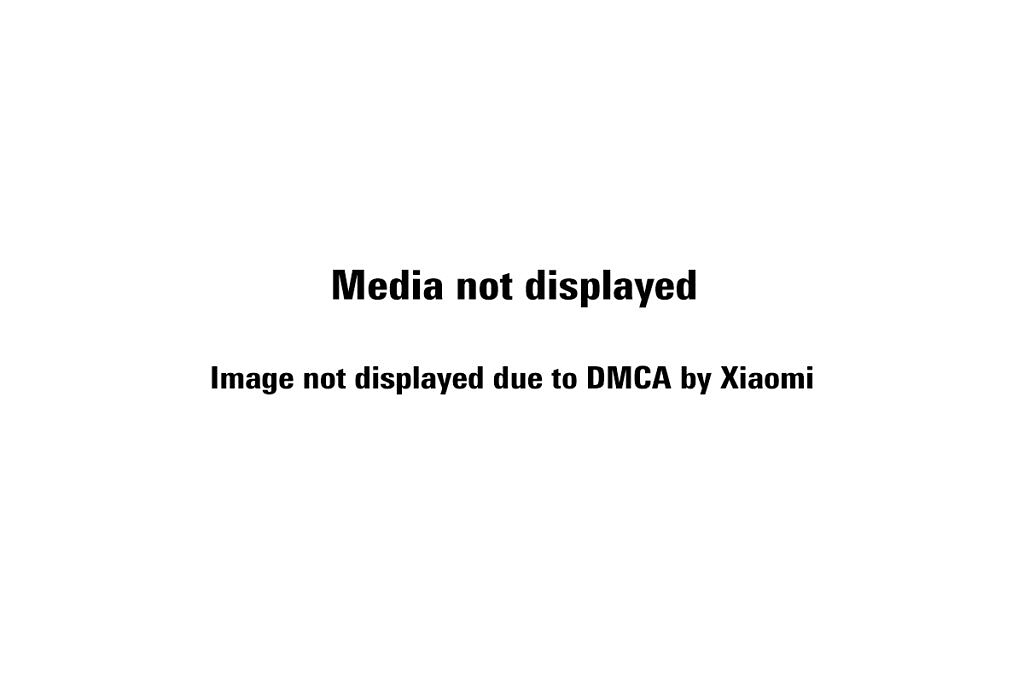 Image not displayed due to DMCA by Xiaomi