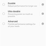 Performance mode options in ZenUI 8 on the ASUS ZenFone 8