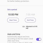Scheduled charging settings in ZenUI 8