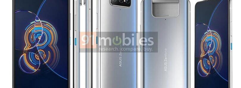 """ASUS ZenFone 8 series leaks in full, revealing compact """"Mini"""" and larger """"Flip"""" models"""