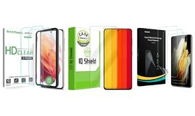 These are the Best Galaxy S21 Screen Protectors in Summer 2021: ESR, amFilm, Spigen, and more!