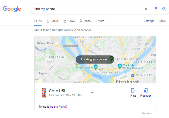 """""""Find my phone""""? How does it know?"""