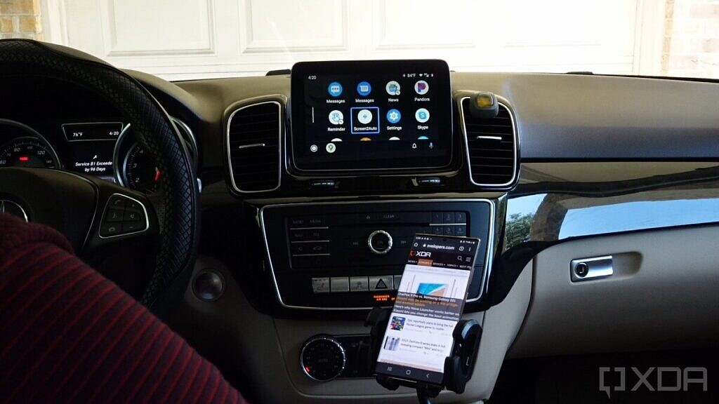 Screen2Auto on Android Auto