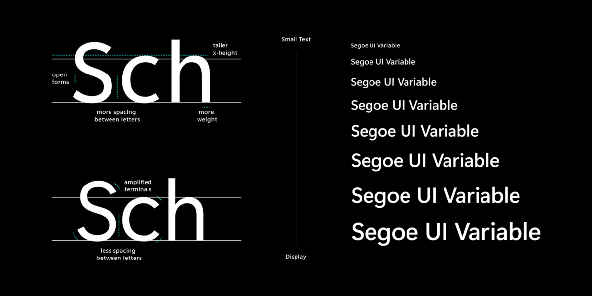 Microsoft has a new Windows 10 build with a refreshed Segoe UI font