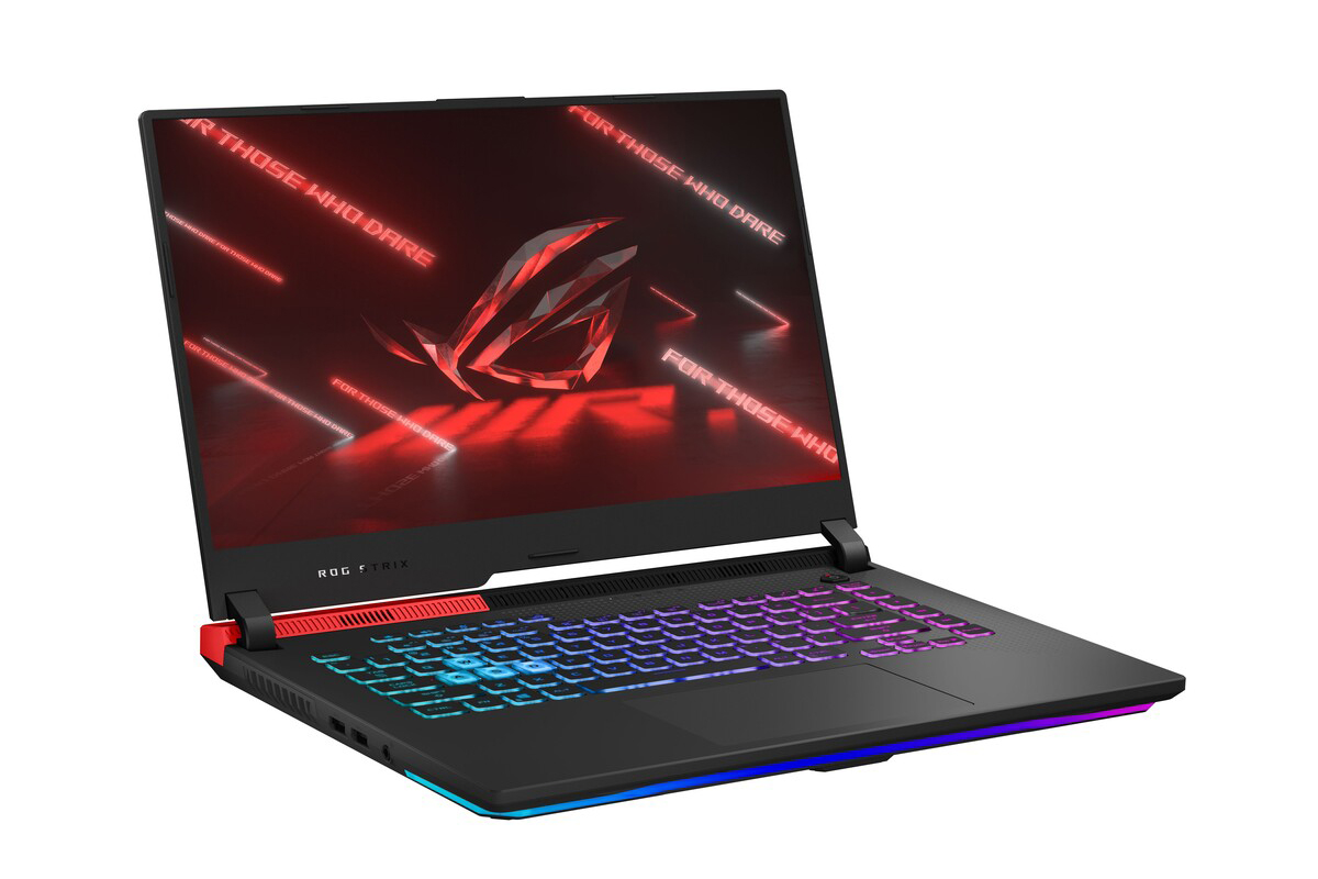 ASUS ROG Strix G15 Advanced Edition product image white