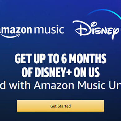 Amazon Music subscribers can get a free Disney+ subscription