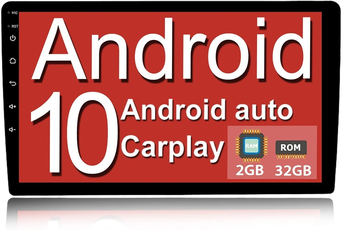 Binize 10.1-inch car stereo with Android 10