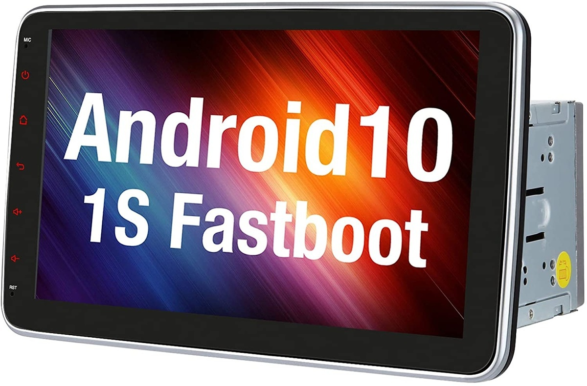 Vanku 10.1-inch Car stereo with Android 10