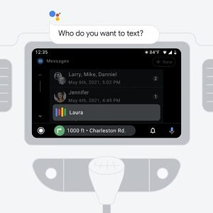 Android Auto sending a message using Google Assitant