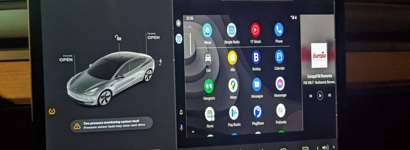 Android Auto on a Tesla? This proof-of-concept shows how it could work