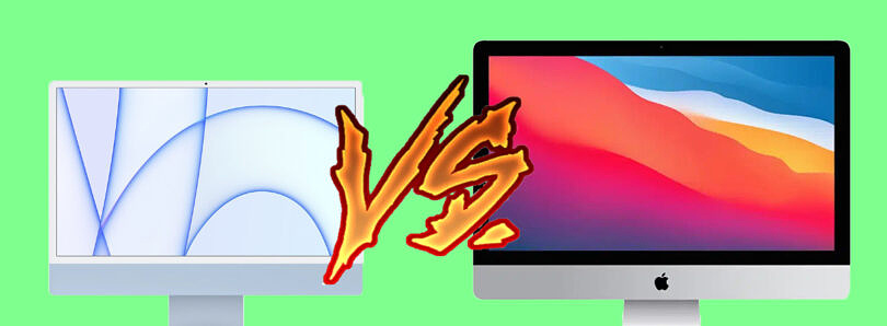 Apple iMac 24-inch with M1 vs iMac 27-inch: Which size iMac should you buy?