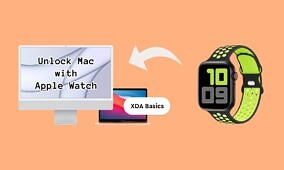 XDA Basics: How to unlock your Mac with your Apple Watch
