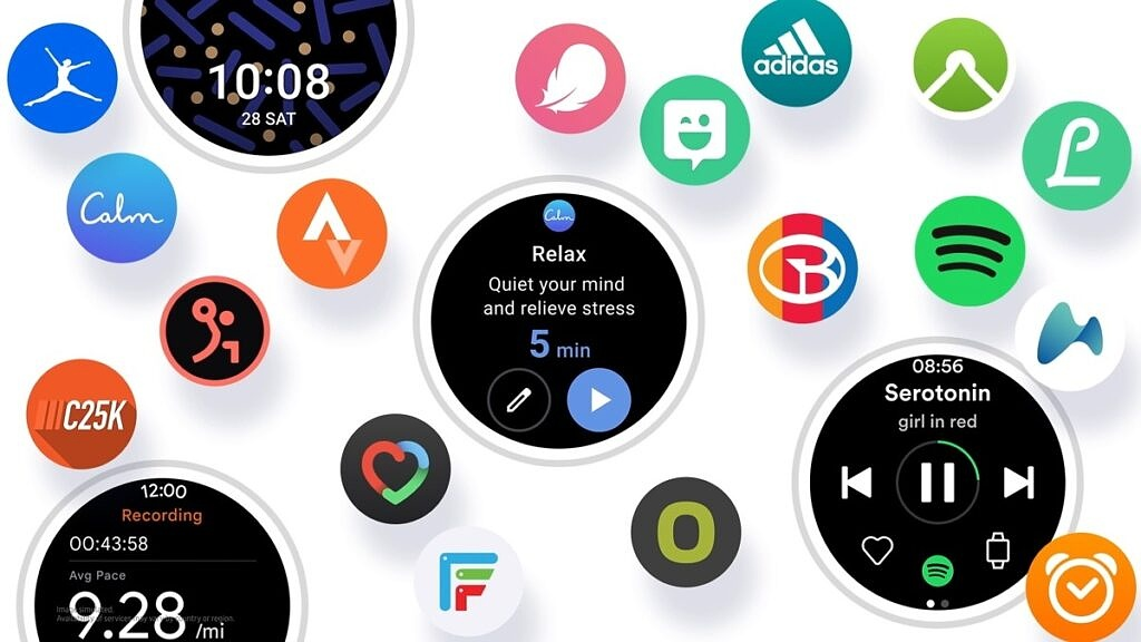 Apps for One UI Watch