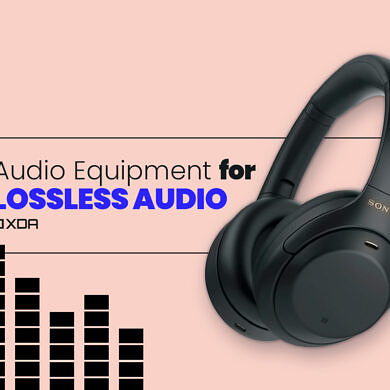 Want to get started with Lossless Audio? This is the Audio Equipment you'll need
