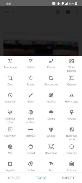 Snapseed Photo Editor for Android