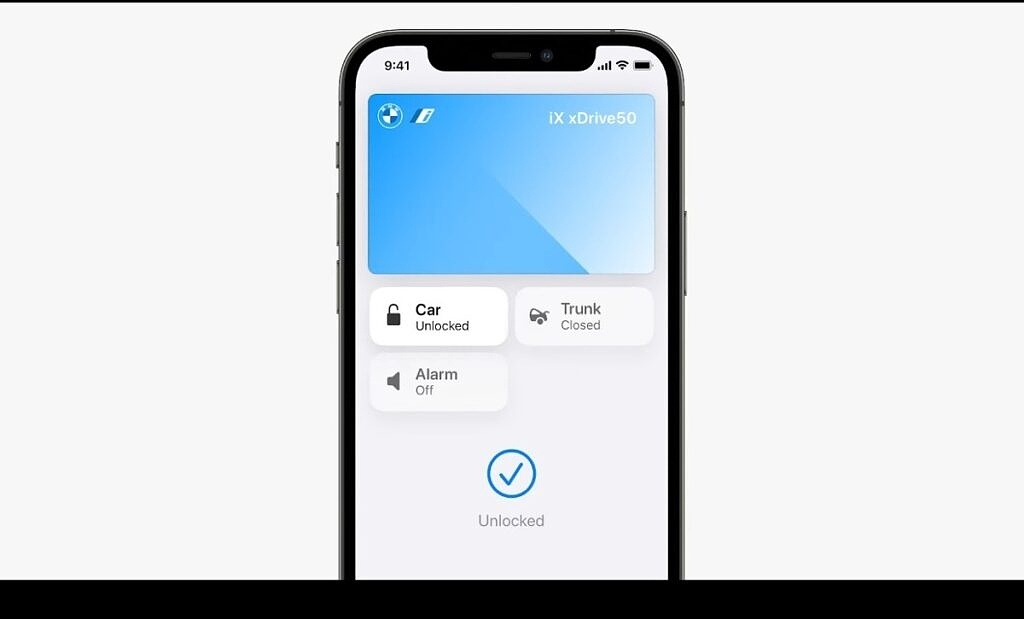 Unlock your car with the Apple Wallet on iOS 15
