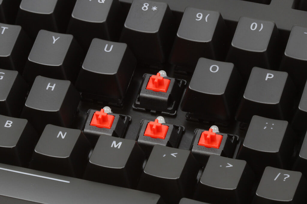 Cherry MX Red keyboard switches