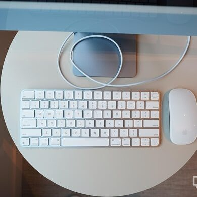 The new iMac's color-matched Magic Mouse and Touch ID Keyboard look better than they perform
