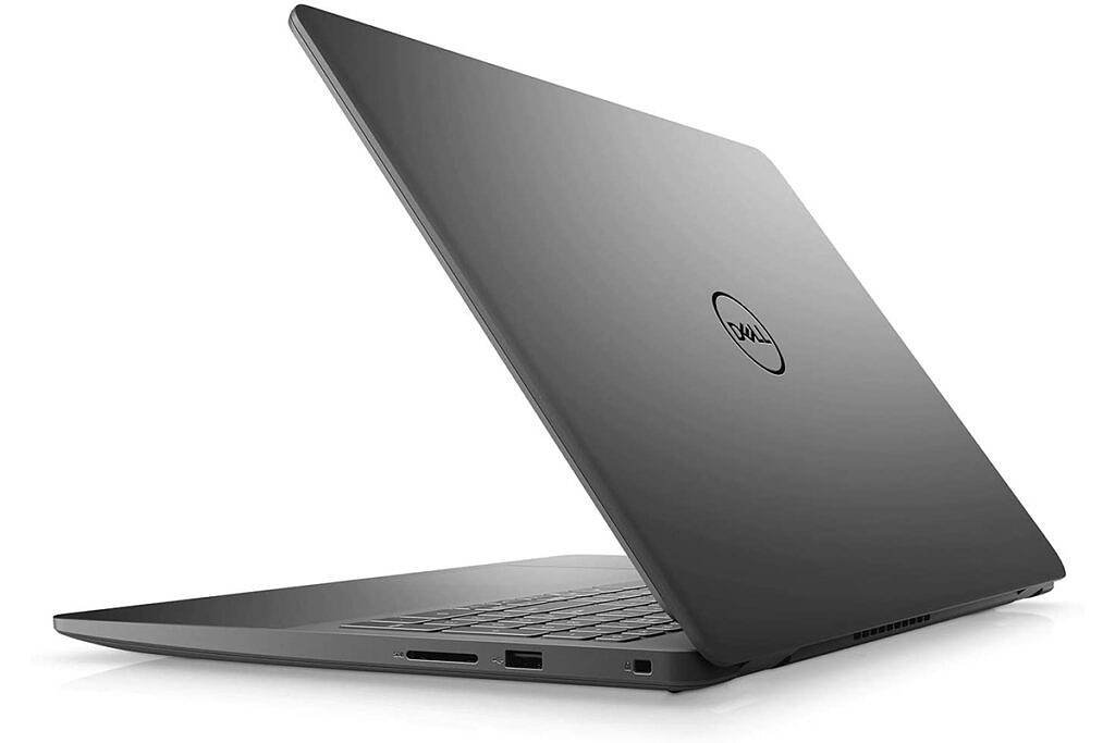 Rear angled view of Dell Inspiron 15 3000