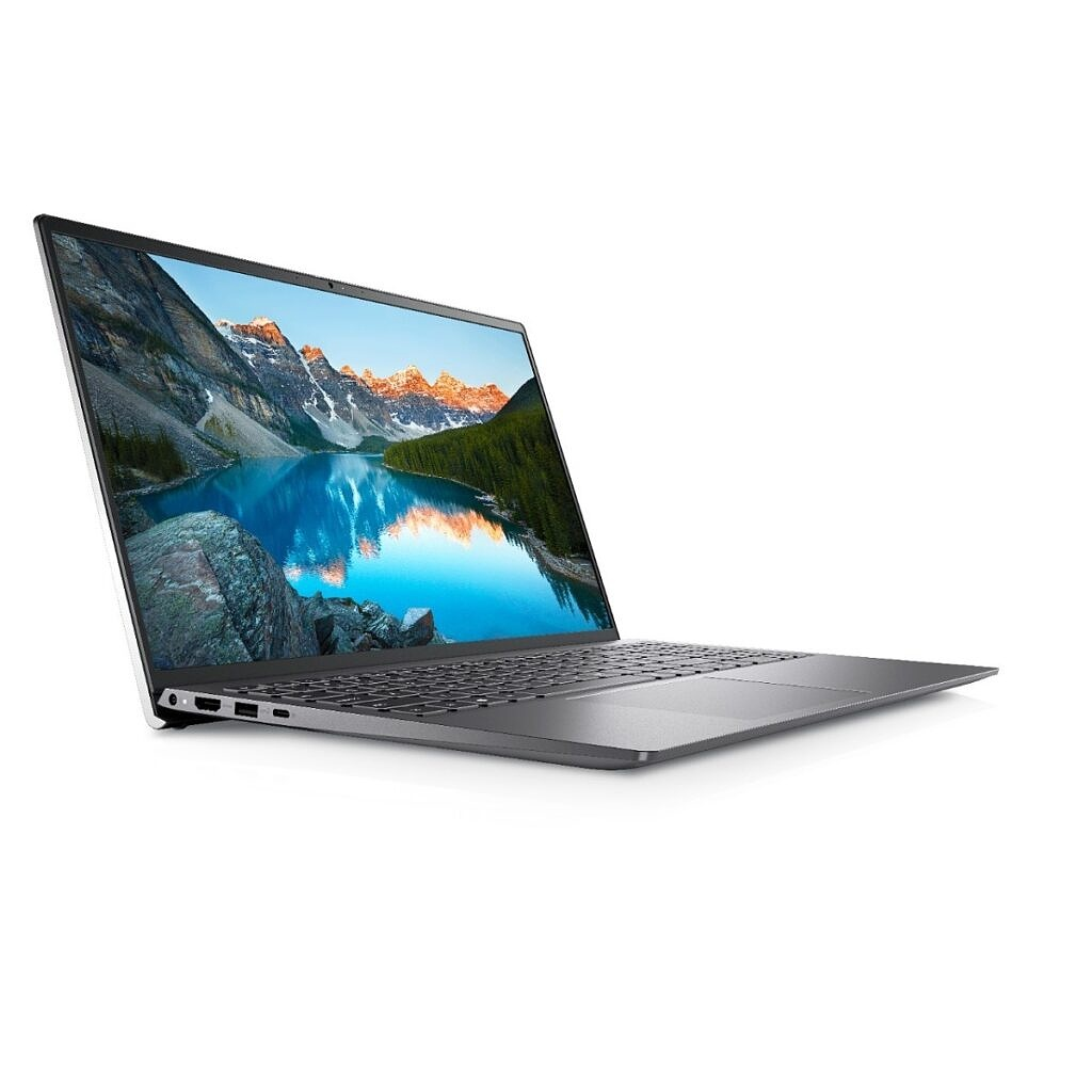 Dell Inspiron 15 5515 on white background