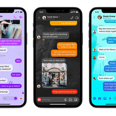 Facebook Messenger is getting a new quick reply bar and new chat themes