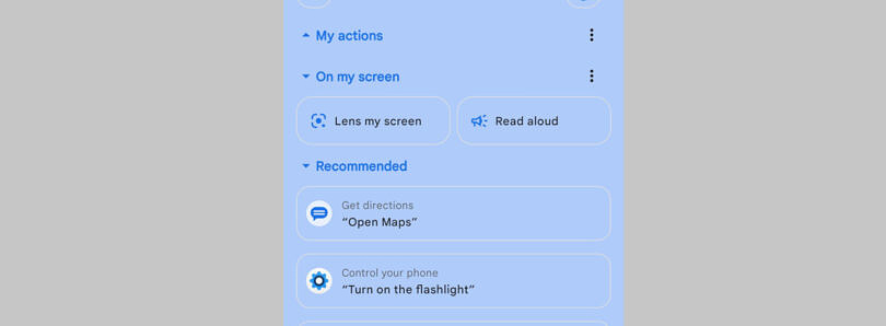 Google Assistant's latest test makes it easier to scan or read the current screen aloud