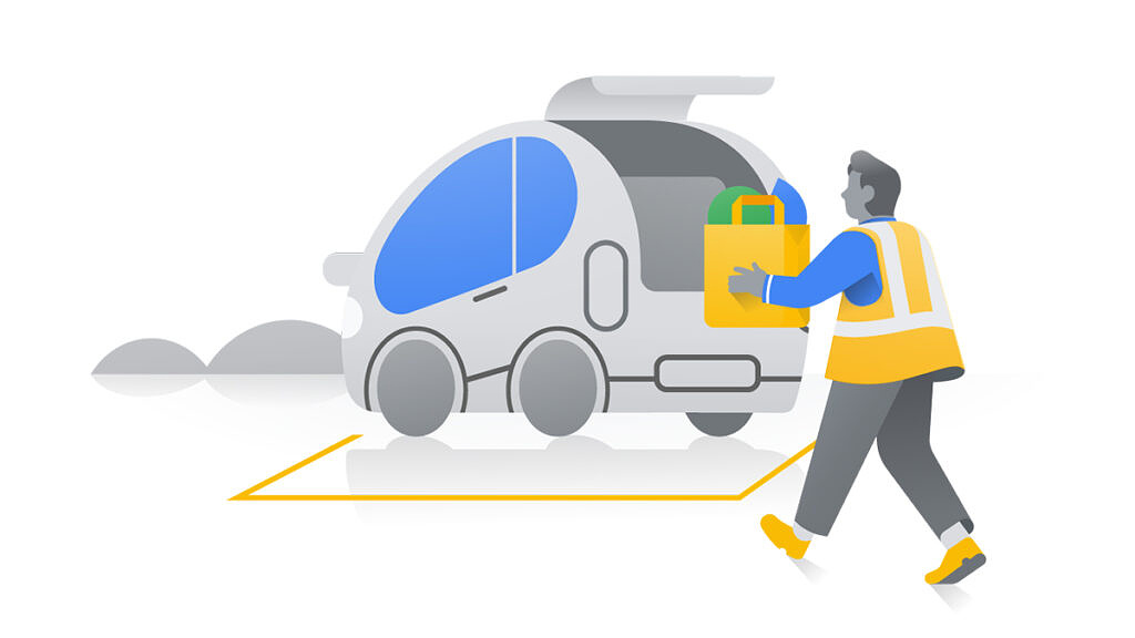 Image depicting the upcoming Assistive Pickup feature in Google Maps