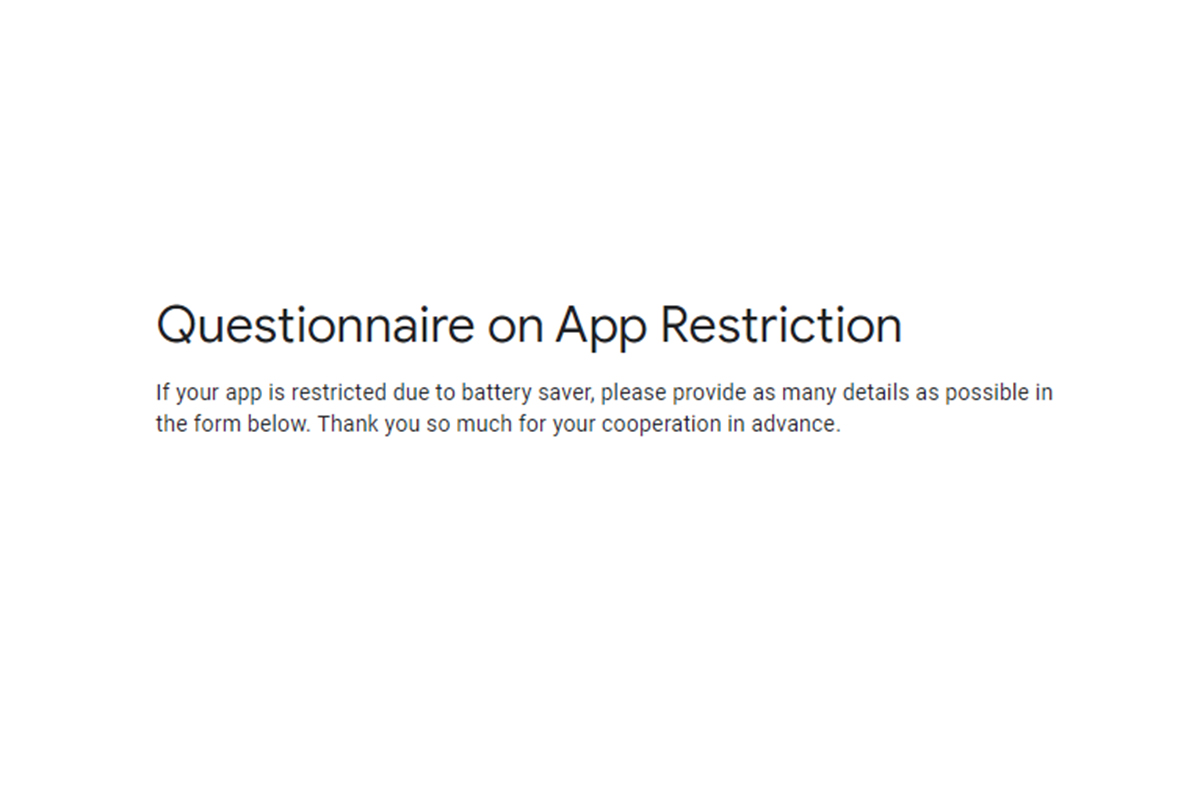 Google wants feedback from developers on how OEM software is interfering with apps