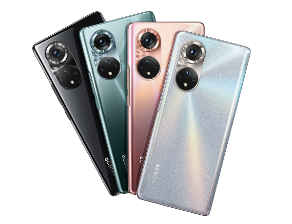 Honor 50 series in four colors