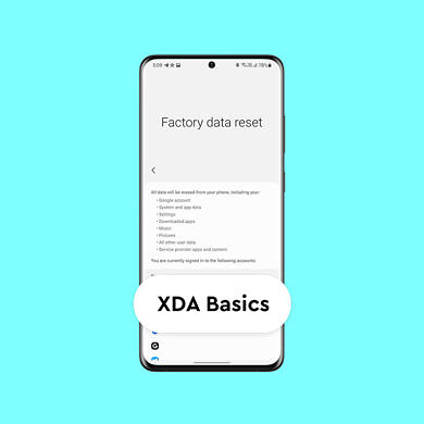 XDA Basics: How to Factory Reset your Android phone