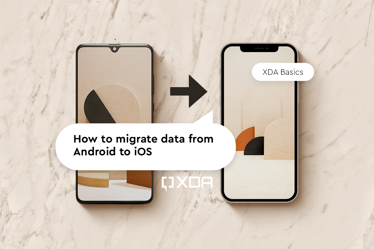 How to copy data from Android to iOS to migrate across the two OS