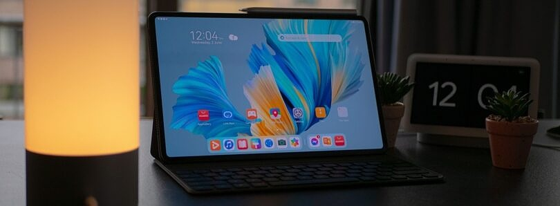 HarmonyOS on the Huawei MatePad Pro brings the look of iPadOS to Android