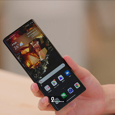 LG's last flagship phone is now in the hands of YouTubers