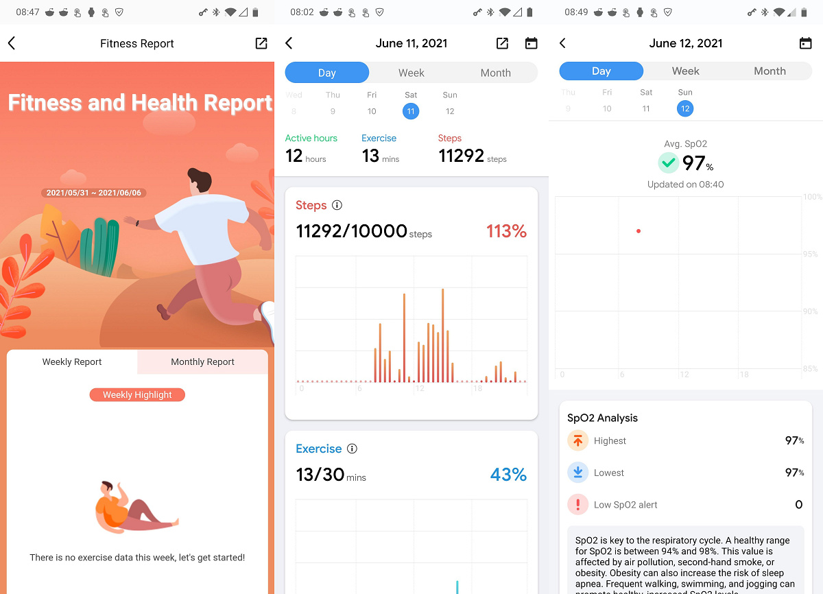 Mobvoi revamps its Android app with a new UI design and personal fitness report