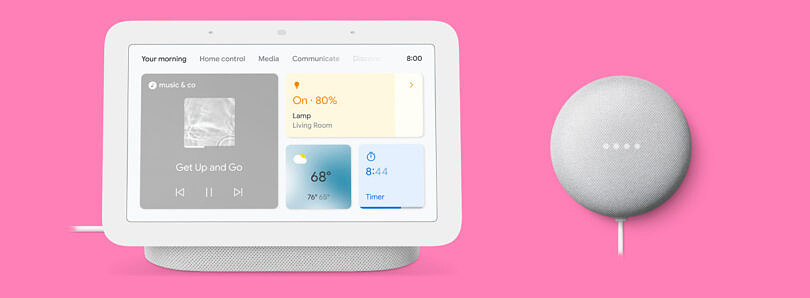 Get a Nest Hub Gen 2 and Nest Mini together for just $90