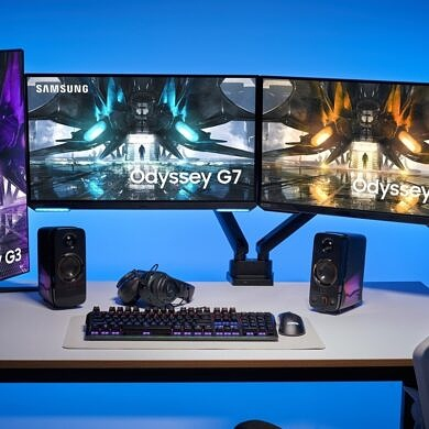 Samsung refreshes its Odyssey gaming monitor lineup with flatscreen options