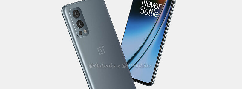 Leaked OnePlus Nord 2 renders showcase its design