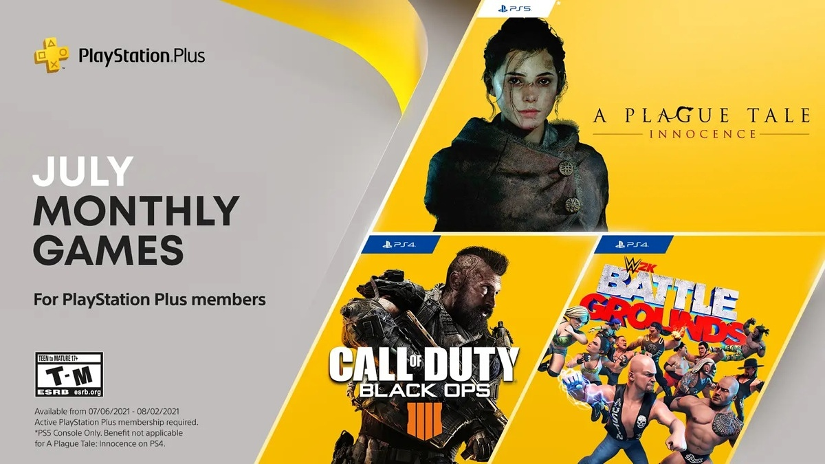 Here are the free games for PS Plus subscribers in July 2021