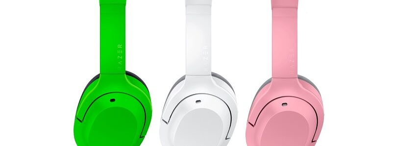 Razer is working on a new pair of colorful over-ear headphones