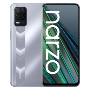 Realme Narzo 30 5G front and back