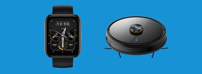 Realme unveils two new smartwatches and a Roomba-like robot vacuum cleaner