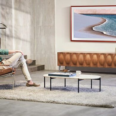 Samsung's new Frame TV 2021 is 46% slimmer and comes with a solar-cell remote