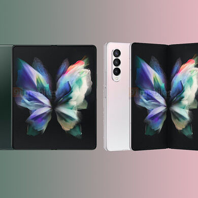 Leaked renders of the Galaxy Z Fold 3 showcase two new colorways