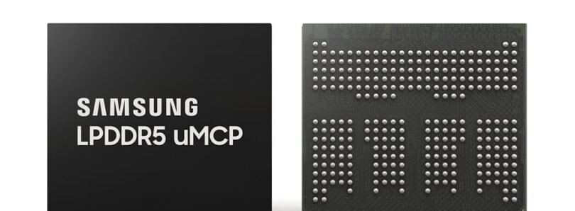 Samsung's new chip combines LPDDR5 RAM and UFS 3.1 into a single package