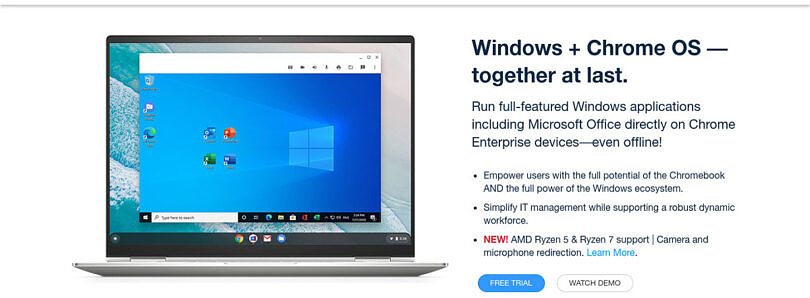 Can I run Windows apps on a Chromebook in 2021?