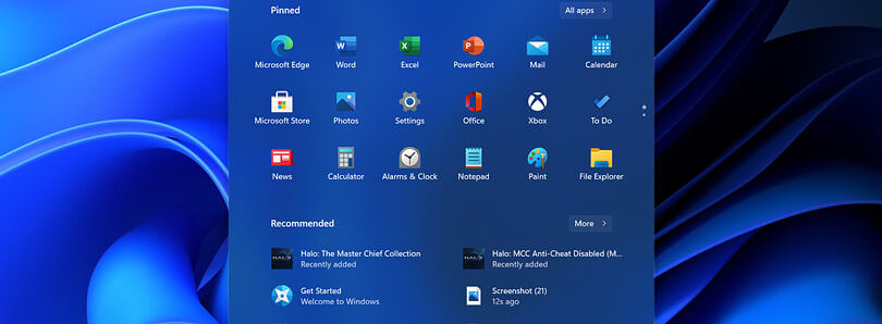 If the new Windows 11 design is all there is, I'd be fine with that