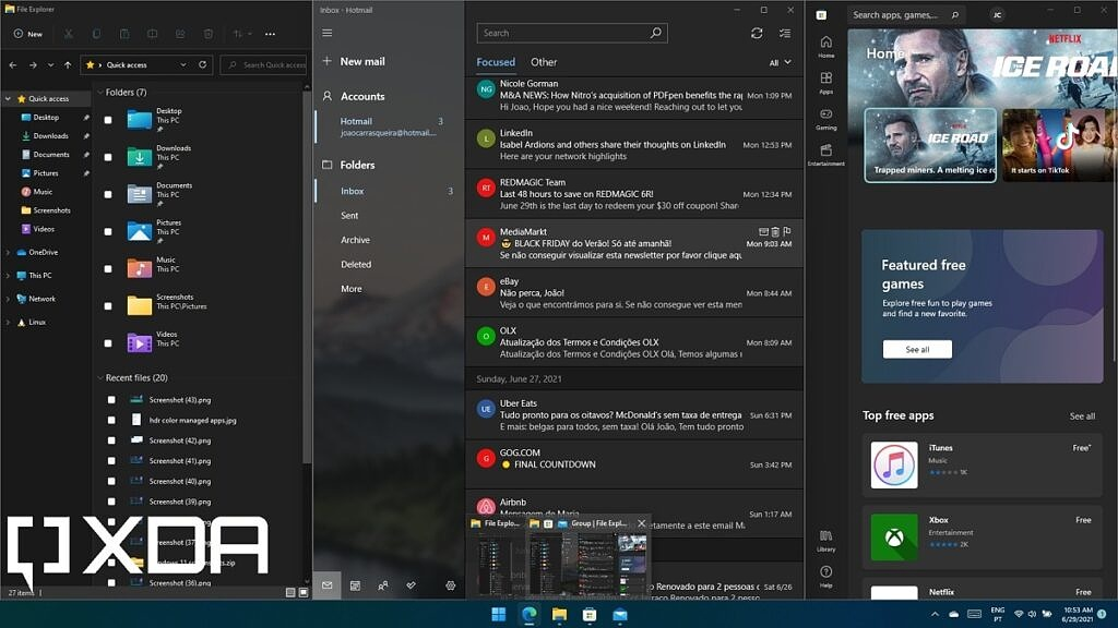 Snap group in Windows 11