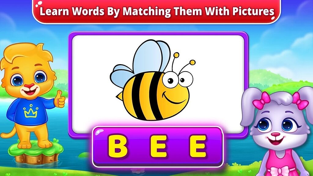 ABC Spelling word matching